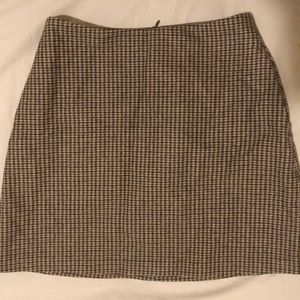 Aritzia Wilfred wool mini skirt